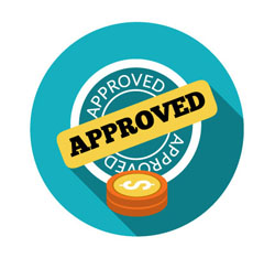 Auto loan approval graphic