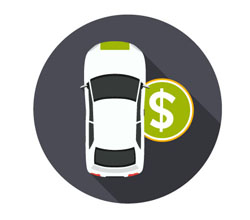 Auto loan graphic
